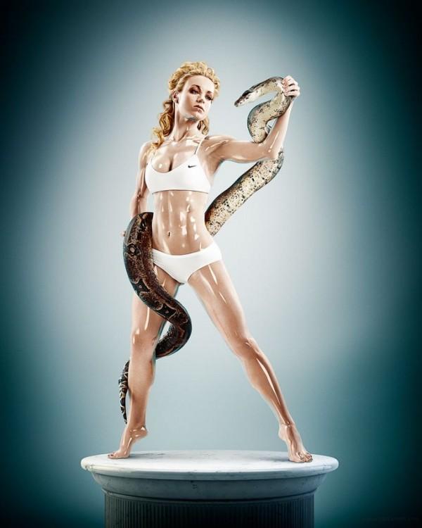 Athlete Sculptures