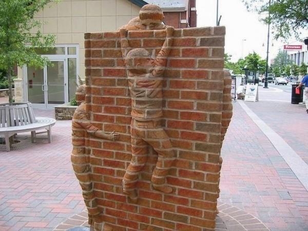 Brick Sculptures