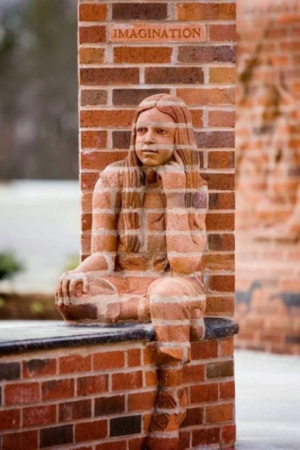 Mind-blowing Brick Sculptures