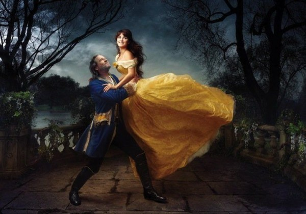 Penelope Cruz and Jeff Bridges in Beauty and the Beast