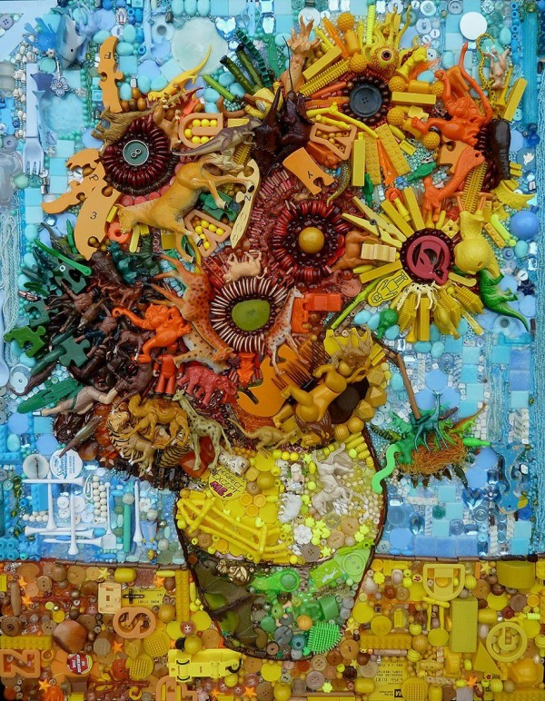 Incredible Recycled Art by Jane Perkins