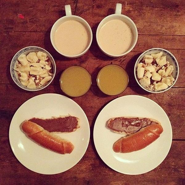 Perfectly Pleasing Symmetrical Breakfasts