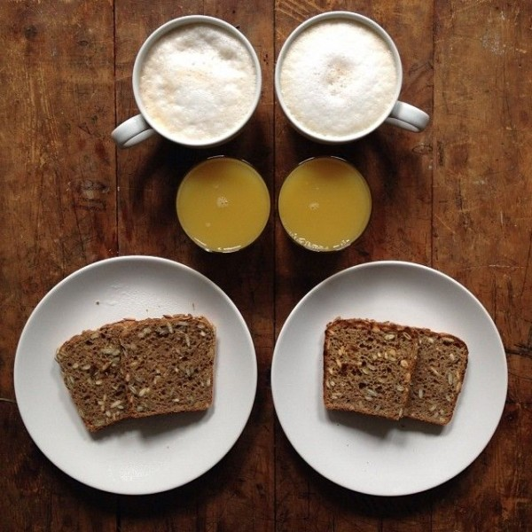 Perfectly Pleasing Symmetrical Breakfasts