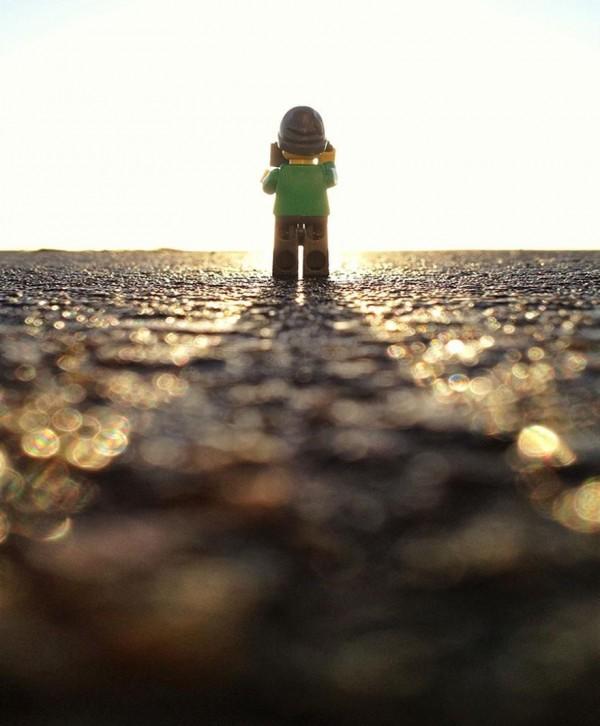 Adventures of Tiny LEGO Tourist