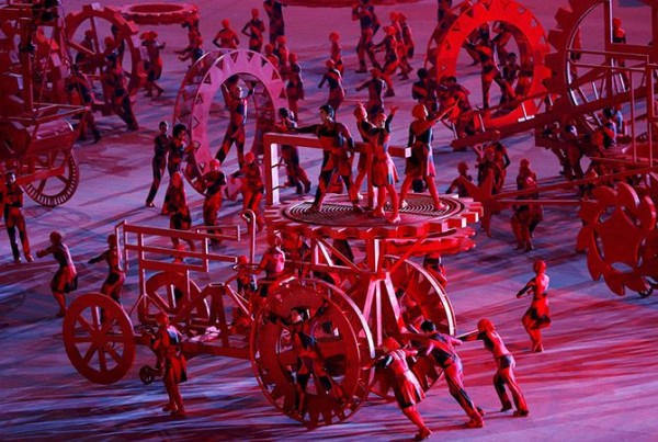 Winter Olympics Opening Ceremony in Sochi