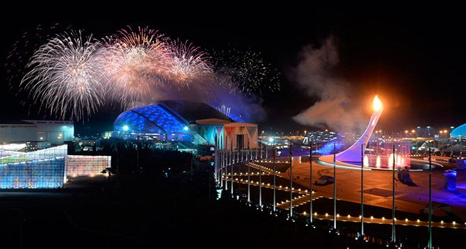 Winter Olympics Opening Ceremony in Sochi