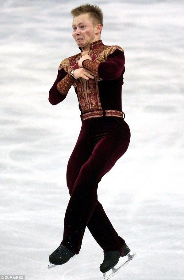 Funny Facial Expressions of Olympic Figure Skaters