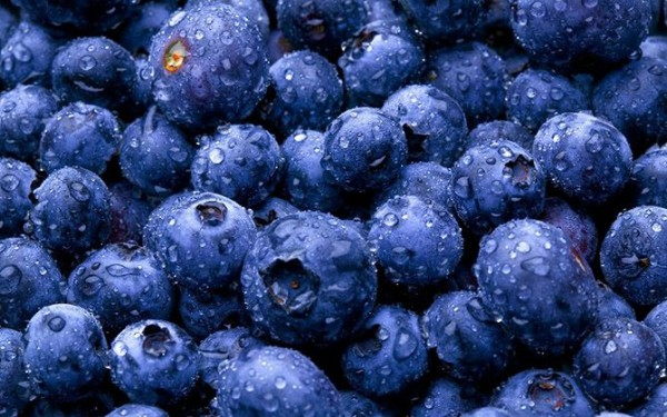 10. Blueberries