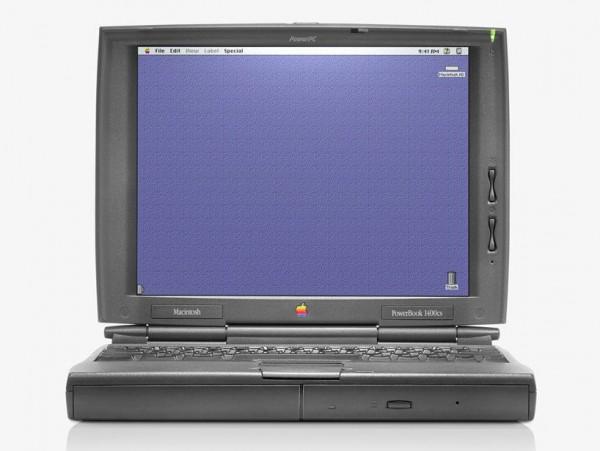 13. PowerBook 1400 - 1996