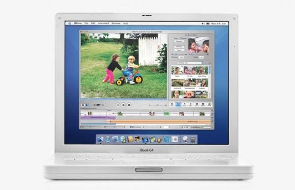 21. iBook G4 - 2004