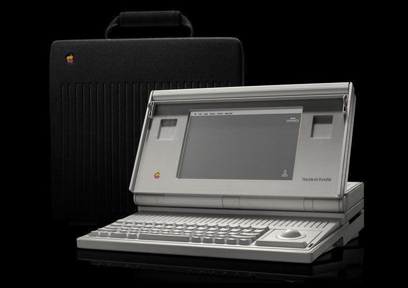6. Macintosh portable - 1989