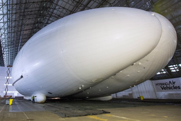 Airlander by Hybrid Air Vehicles
