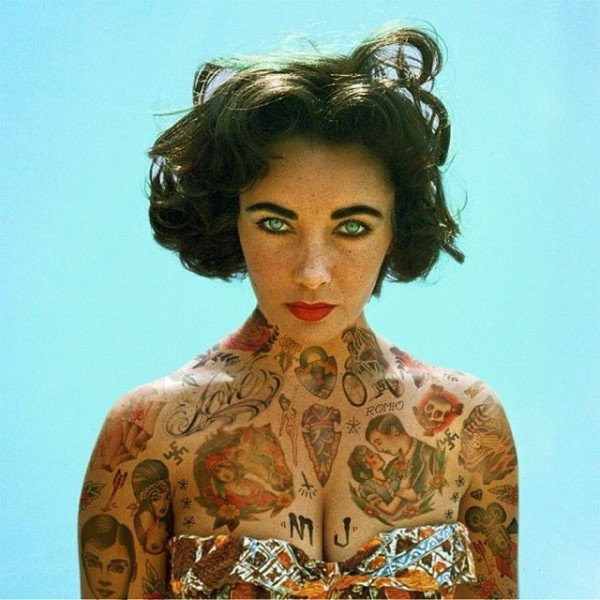 Stunning Pictures of Iconic Figures Covered in Tattoos