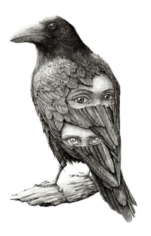 Bizarre Drawings by Redmer Hoekstra