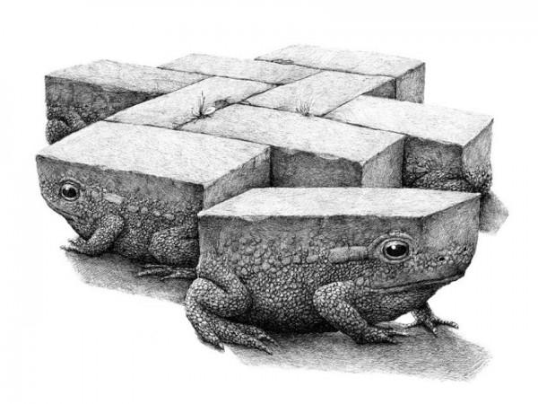Illustrator Redmer Hoekstra's Bizarre Drawings