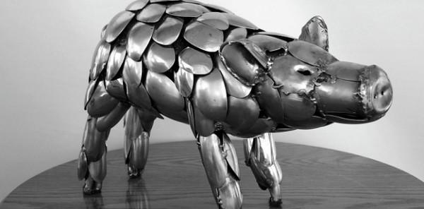Flatware Sculptures