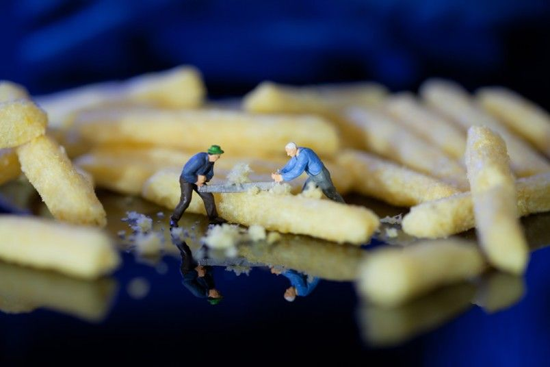 Have you ever wondered why all the chips at the bottom of a tiny package
