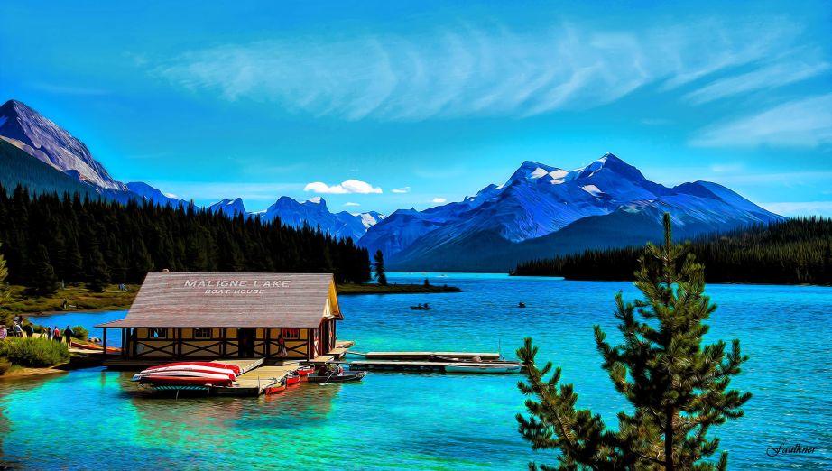 Jasper National Park - Maligne Lake