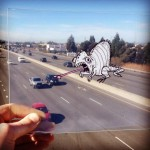 Illustrator Marty Cooper Transforms His Daily Cartoon Drawings on Transparencies