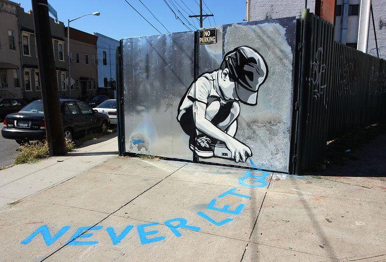 Never Let Go, Bushwick Collective, B