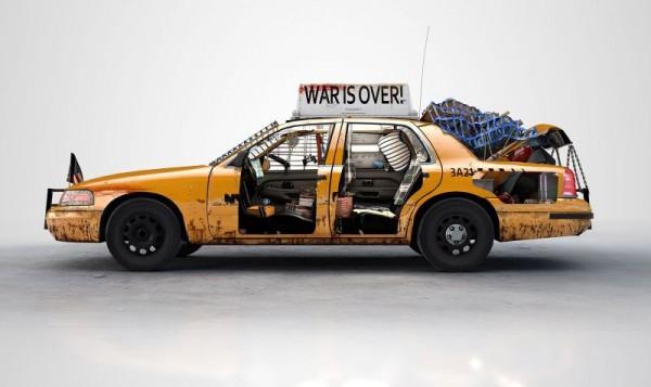 New York taxi binoculars