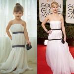 Mini Fashion Designer Mayhem Creates Amazing Dresses Made Out Of Paper and Tape