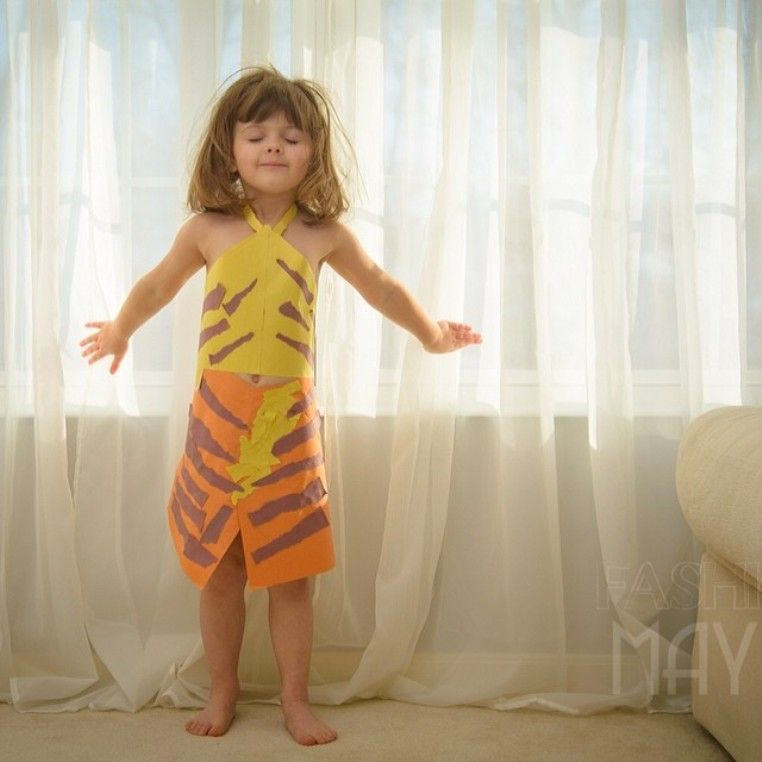 Dresses Made out of Paper