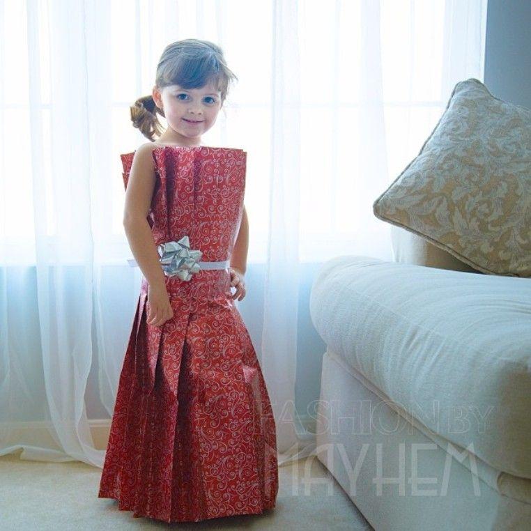 как сшить платье из подручных материалов