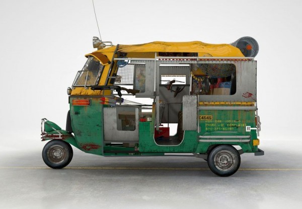 Taxi from New Delhi (Tuk Tuk)