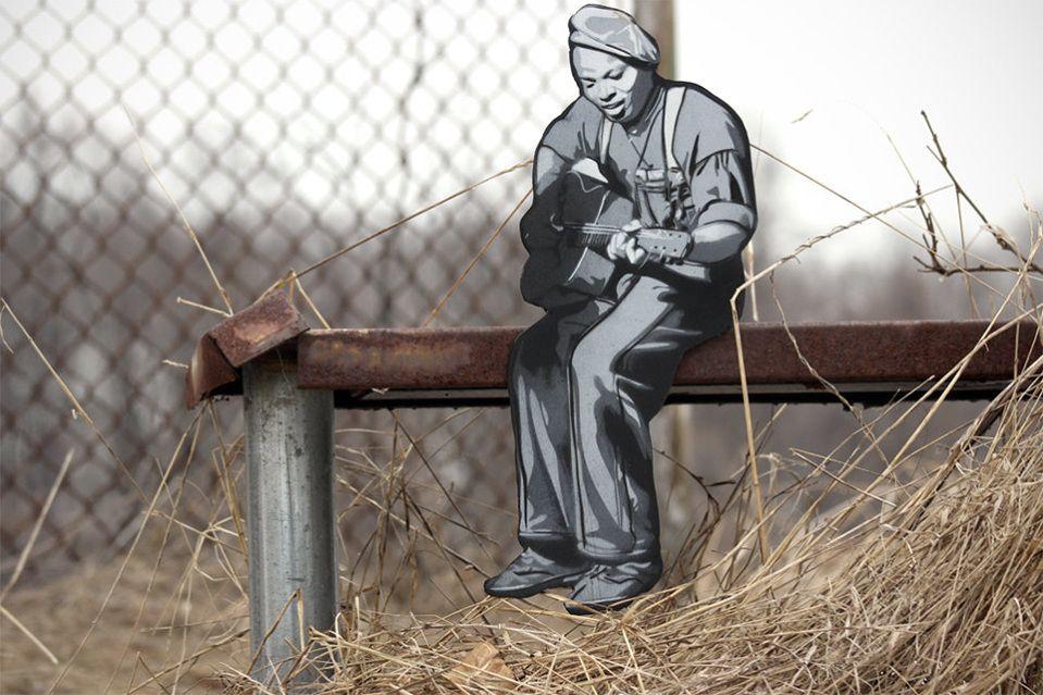 Mind Blowing Wooden Street Art Installations of Joe Iurato