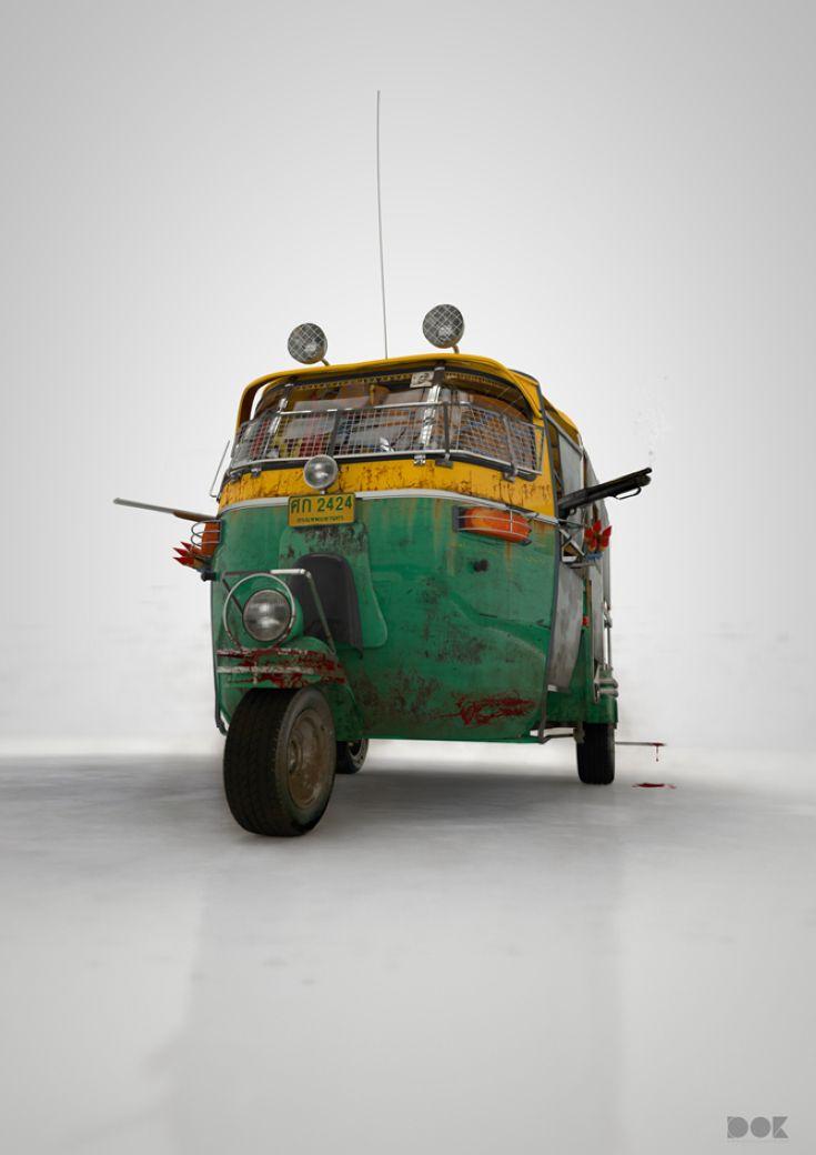 Taxi from New Delhi (Tuk Tuk)