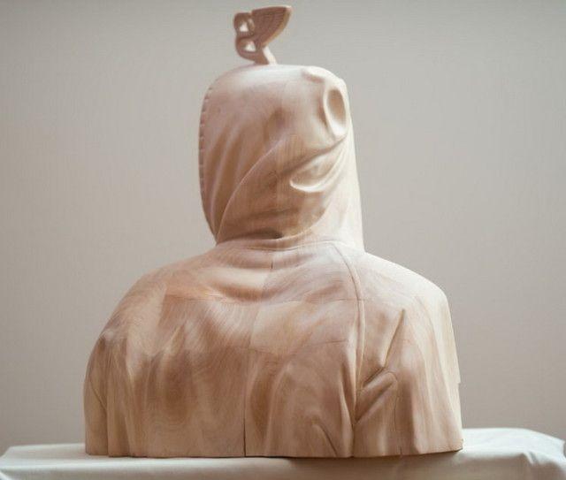 Impressive Wooden Sculptures by Paul Kaptein