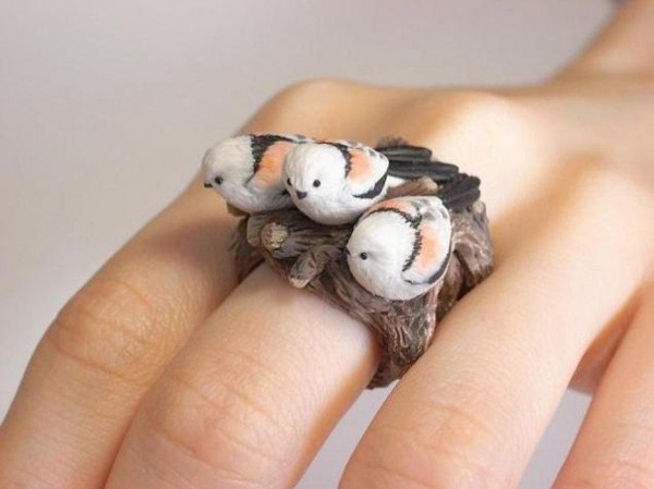 Wonderful Animal Cling Rings of Jiro Miura