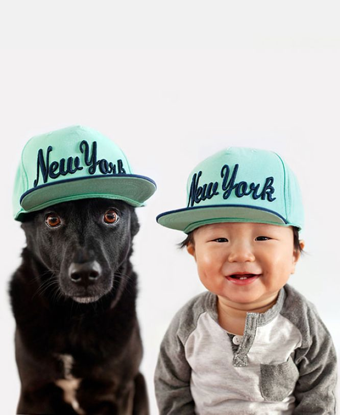 Mother Takes Adorable Portraits of Her 10-Month-Old Baby and Their Rescue Dog