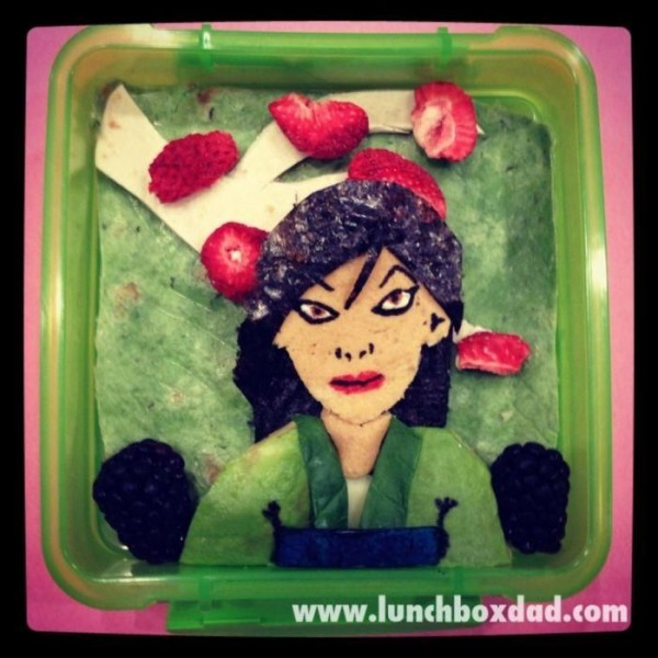 Edible Art by Lunchbox Dad Beau Coffron
