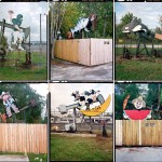 'Nodding Donkeys': Fantastic Pictures of Decorated Oil Pumps by Ben Sklar