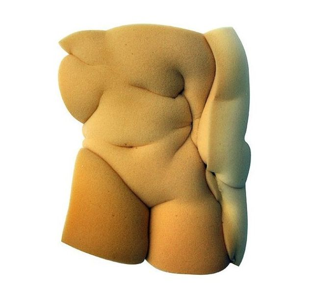 Soft Sponge Sculptures of Etienne Gros