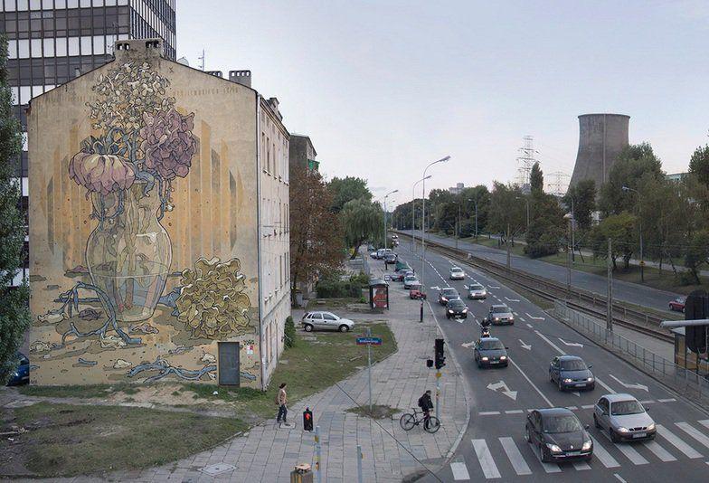 Aryz Street Artwork