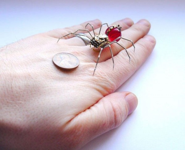 Tiny Mechanical Insects