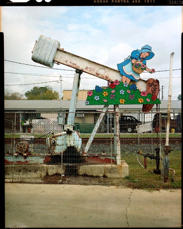 Coquettishly Artistic Oil Pumps