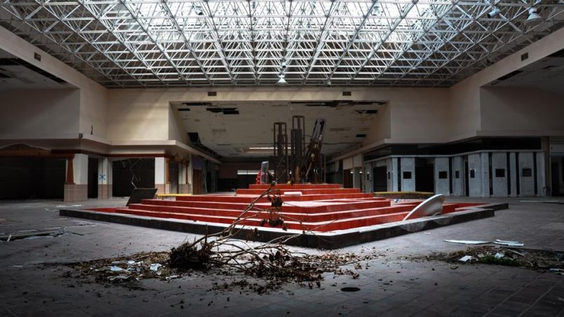 Abandoned Shopping Mall in Ohio