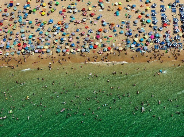 Beach in Benidorm, Spain