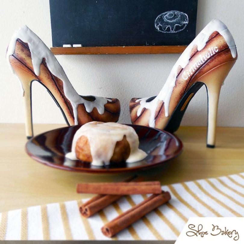 Cinnaholic Heels