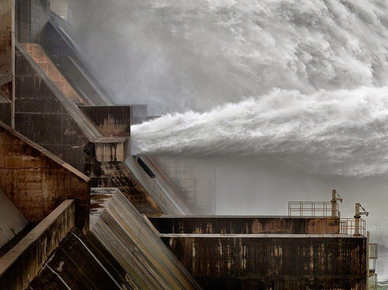 Dam on the Yellow River, China