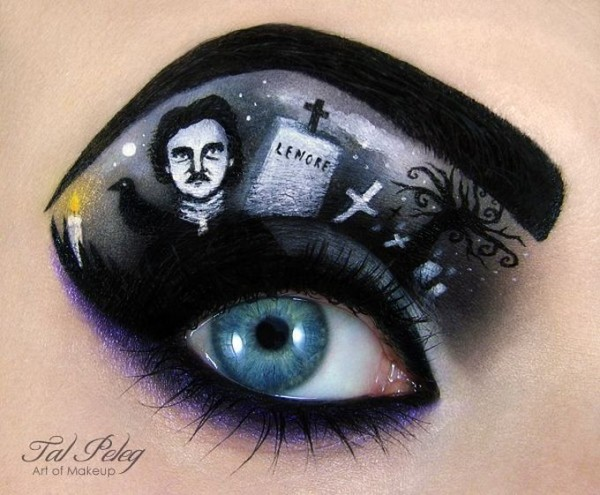 Mind Blowing Miniature Works of Art Using Eye Makeup