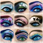 Passionate Makeup Artist Creates Mind Blowing Miniature Works of Art Using Eye Makeup