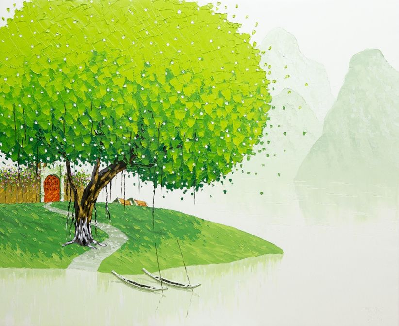 Spectacular Landscape Paintings by Phan Thu Trang