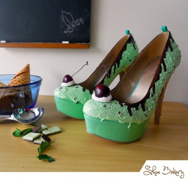 Mint Ice Cream Heels