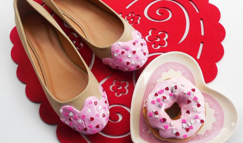 Special Edition Valentines's Sprinkle Flats