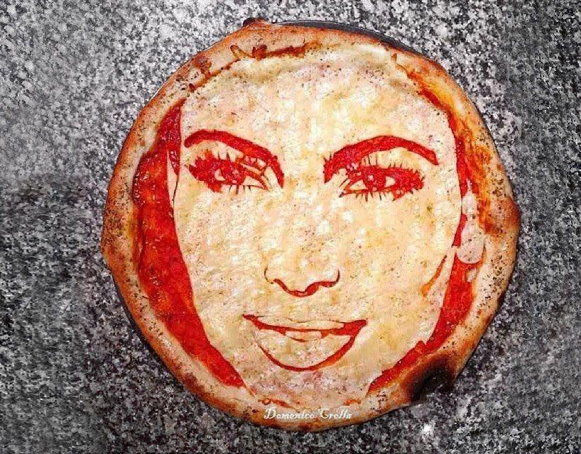 Domenico Crolla's Pizza Portraits